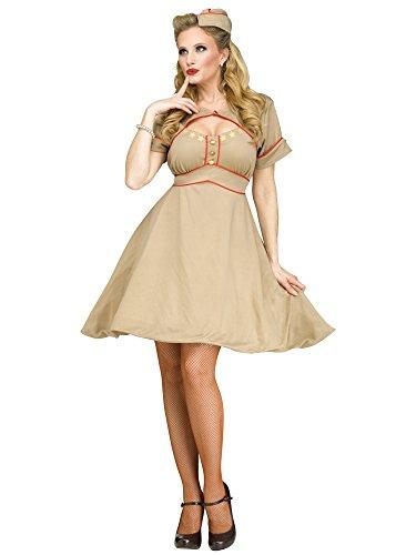 Damen Kostüm Militäruniform 1940er-Jahre 2. ()