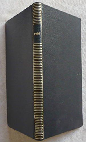 Agenda Pléiade, 1986