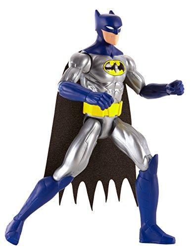 Mattel FJG13 - DC Justice League Basis-Figur Batman Dark Blue Suit, 30 cm