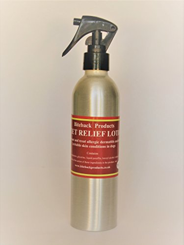 Biteback Products 'Sweet Relief'™ Soothing Steroid-free Lotion for Itchy Dogs 250ml 1