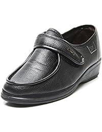 Doctor Cutillas 780 - Zapato Ortopédico Velcro Marrón mujer