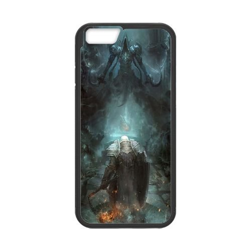 Diablo coque iPhone 6 Plus 5.5 Inch Housse téléphone Noir de couverture de cas coque EBDXJKNBO09044