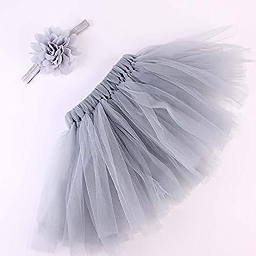 n Tutu Glitter Tanz Ballett Dreilagige Weiche Tüllröcke Für 0-12 Monate (# 2) ()