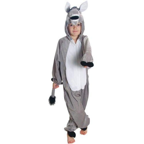 Kinder Tierkostüm Esel Verkleidung Kostüm Karneval Fasching L