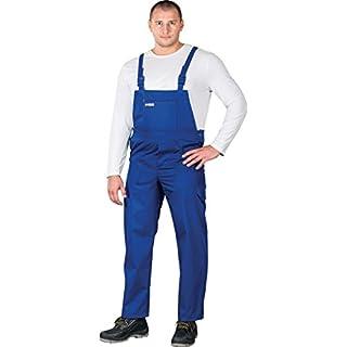 SM Arbeitslatzhose Latzhosen Latzhose Arbeitshose multifunktion Hose Arbeitskleidung Gr. 56 Blau