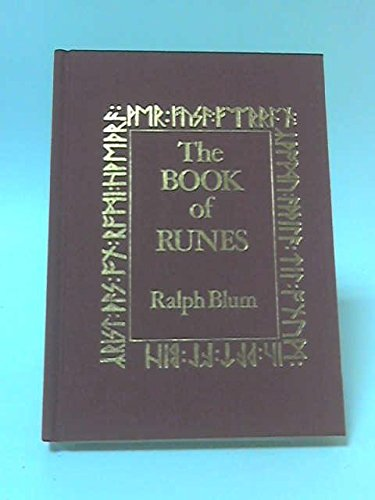 The book of runes: A handbook for the use of an ancient oracle : the Viking runes