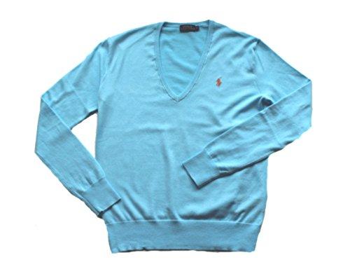 Polo Ralph Lauren Damen V-Neck Pullover Eloise (L) (Ralph Pullover Leichte Lauren)