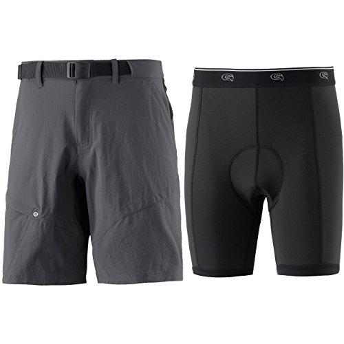 Gonso Herren Arico He.-Bike-Shorts Graphite L