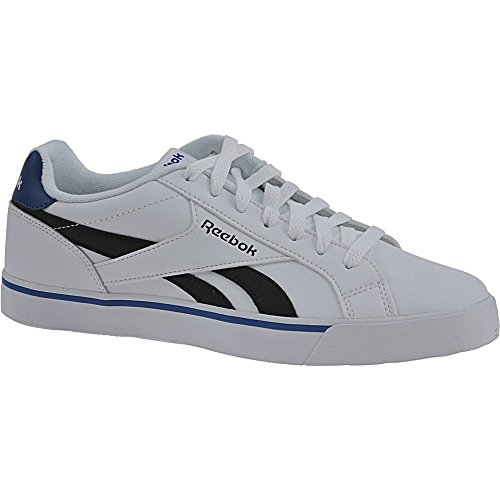 Reebok - Royal Complete 2ll, Scarpe sportive Uomo Bianco (White/black/collegiate Royal)