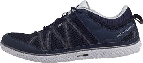 Helly Hansen Sailpower 3, Sneaker uomo Multicolore Azul / Blanco (597 Navy / White / Mid Grey) 40