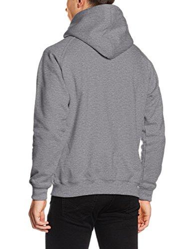 Urban Classics Herren Kapuzenpullover Zip Hoody Grey
