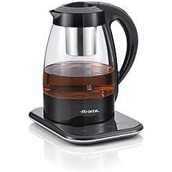 Ariete 2867 Tea Maker Machine à thé, Plastique, 1.2 liters, Noir