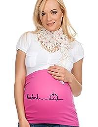 Faja para embarazadas, diseño con texto « ...