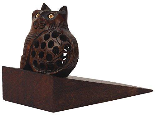 SouvNear Feline Frenzy! 11.2 cm Cat Door Stopper – Surprise Kitty Filigree Art Wedge-Style Stopper – Home Décor & Accessories