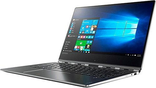 """Lenovo Yoga 910 Business 14"""" 2 in 1 Full HD IPS Touchscreen Laptop/Tablet, Intel Dual-Core i7-7500U up to 3.5GHz 8GB DDR4 256GB SSD Backlit Keyboard 802.11ac Bluetooth USB Type-C Win 10"""