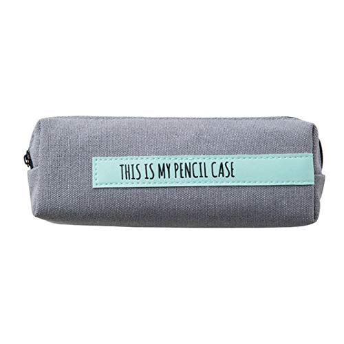 Jaminy Pencil Case  Pen Bag Makeup Pouch Simple Pencil Pen Case Cosmetic Makeup Bag Storage Pouch Purse Students School  A