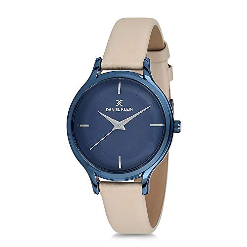 Daniel Klein Analog Blue Dial Women's Watch-DK11676-4