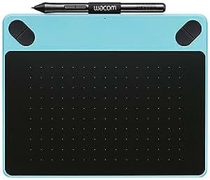 Wacom CTH-490AB-S Intuos Art Stift-Tablett (Touch S inklusive Softwaredownload von Corel Painter Essentials) blau