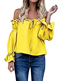 Camisetas Camisas Ropa Amazon Blusas Blusas Tops Lazos Y es gW1qSXC