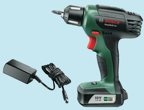 bosch akkuschrauber lithium easy drill 12v 1. Black Bedroom Furniture Sets. Home Design Ideas