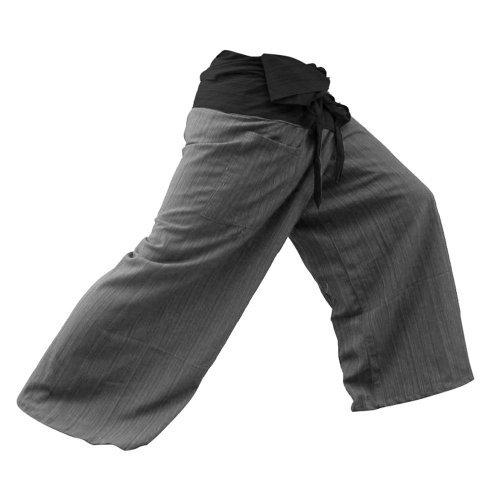 Sumalee thaicomplex 2Ton Thai Fisherman Hose Yoga Hosen gratis Größe Plus Größe Baumwolle -