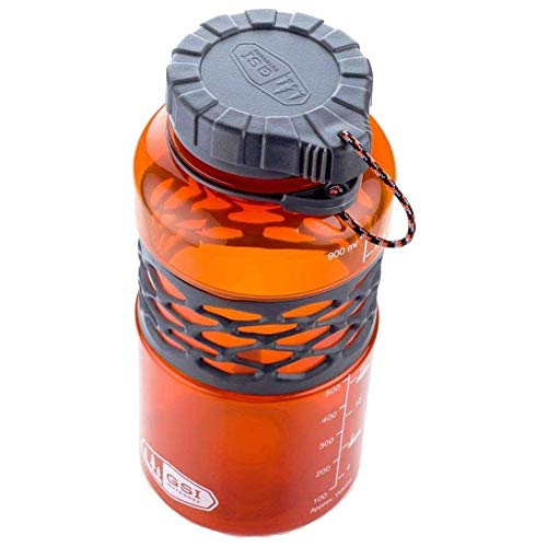 GSI Infinity Dukjug Flasche 1000ml grün Farbe orange 2018 Trinkflasche -