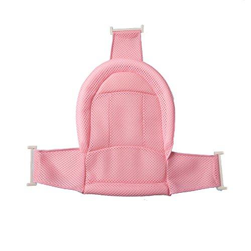 Baby Neugeborenen Bad Rack Badewanne Rack Sitz Verdickung Bad Blau Kind Und Kleinkind Dual Stand Grip Support,Pink