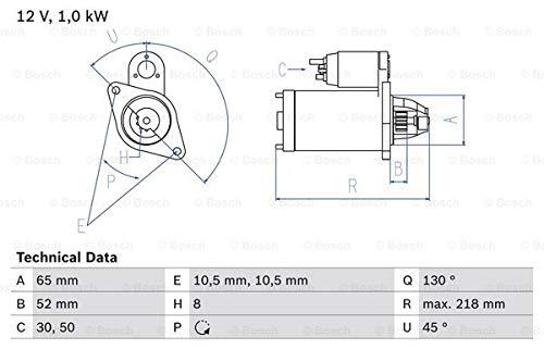 Bosch 0 986 024 700 Kit de démarrage Moteur