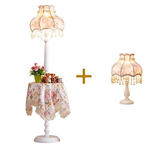 Stehleuchte Licht Tuch - LDD09 Europäischen Stil Wohnzimmer Schlafzimmer Einfache Europäische Prinzessin Luxus Kreative Garten Hochzeit Couchtisch Stehlampe (größe : B)