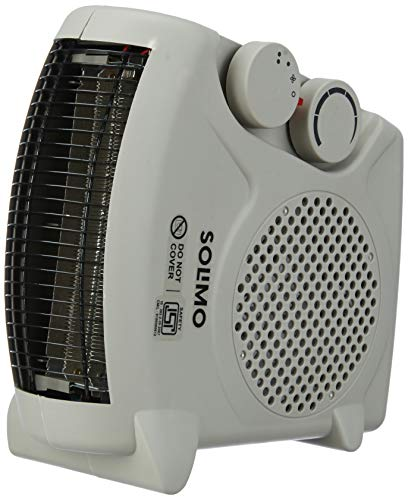 Amazon Brand - Solimo 2000-Watt Room Heater (ISI certified, Beige color, Ideal for small to medium room/area)