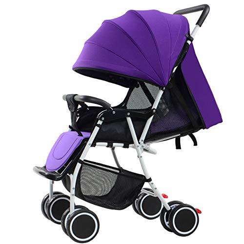 Kaysa-TS Baby Stroller Falten Pushchair Leichtgewicht Baby Travel Buggy (Lila)