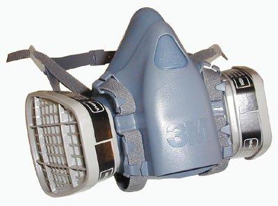 3M 7500Serie wiederverwendbar Atemschutzmaske mit Cool Flow Ausatemventil, L