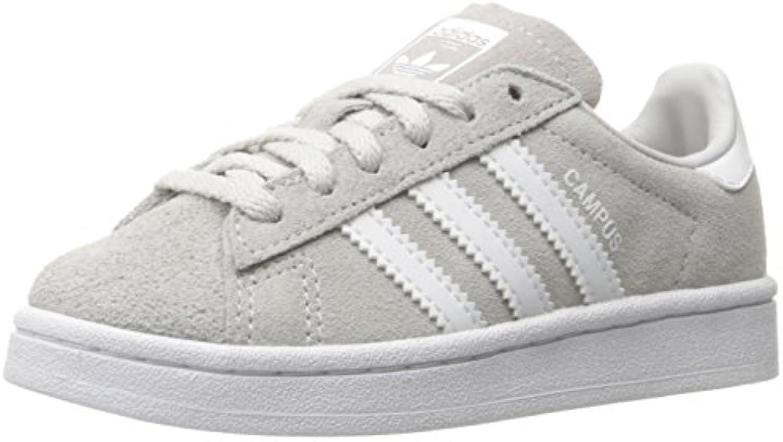 adidas originaux garçons « campus - c basket, gris - campus blanc / blanc, 1 petit moyen de nous 992a16