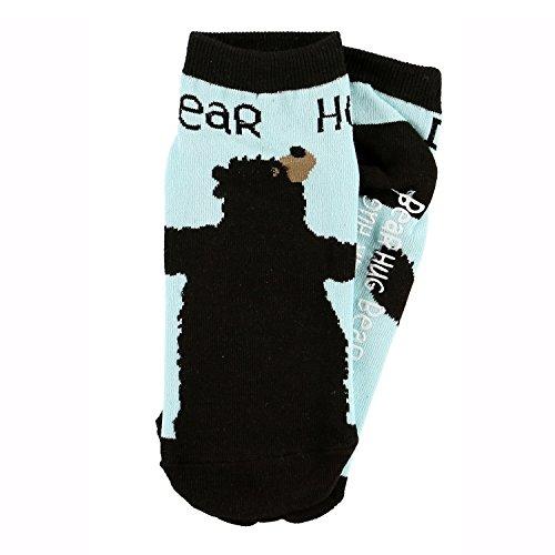 LazyOne Unisex Bear Hug Adult Slipper Socks One Size