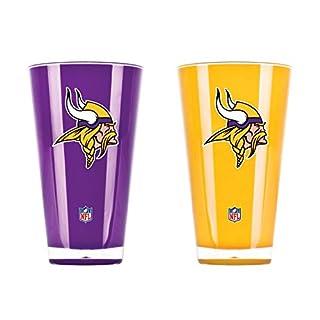 NFL Set von zwei 20Unze Tumbler, unisex, Minnesota Vikings