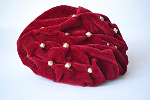 fascinator-red-velvet-and-pearls-handmade-in-italy