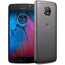 """Motorola Moto G5 Dual SIM 4G 32GB Grey - smartphones (13.2 cm (5.2""""), 32 GB, 16 MP, Android, 7.1, Grey) [versione Francia]"""