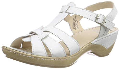 Caprice 28355, Salomés femme Blanc - Blanc (100)