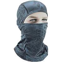 AHELMET Cómodo a Prueba de Viento Pasamontañas Máscara de esquí Clima frío Máscara Facial Capucha Retención térmica Superior Aire Libre Cuello de la Motocicleta Más cálido (Color : Picture3)