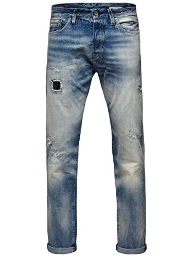 Jack and Jones Faded Jeans (Bootcut Denim Faded Jeans)