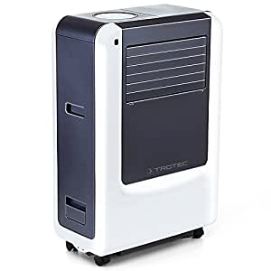 Trotec Pac 3500 X Climatiseur portable à 12000 BTU, Conditionneur d'air local monobloc 3,4 kW, EEK A