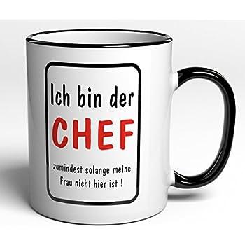 tasse mit spruch ich bin der boss regeln paragraphen f r das b ro den chef lustig. Black Bedroom Furniture Sets. Home Design Ideas