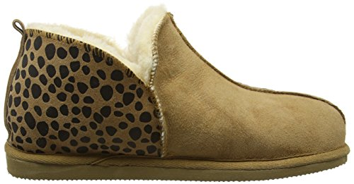 ShepherdAnnie - Pantofole donna Marrone (Brown (Leopard/Chestnut 42))