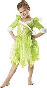 Peter Pan - Disfraz de Hada Campanilla de Invierno para niña, infantil 5-6 años (Rubie
