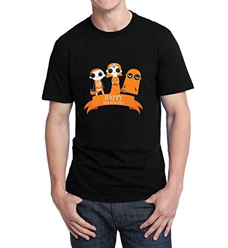Happy Halloween Scary Kids Tricks Or Treats_006236 T-Shirt Birthday for Him MD Men Black