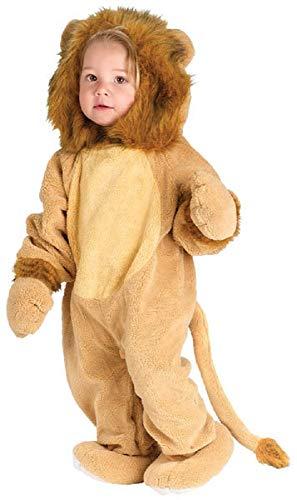 Fancy Me Baby Kleinkind Tier Overall Halloween büchertag Kostüm Kleid Outfit 6 Monate - 2 Jahre - Löwe, 6-12 Months (Kostüm Löwe, Kleinkind, Halloween)