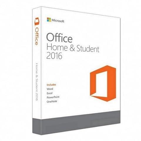 Microsoft 950020 Office Famille et Etudiant 2016 pour Mac
