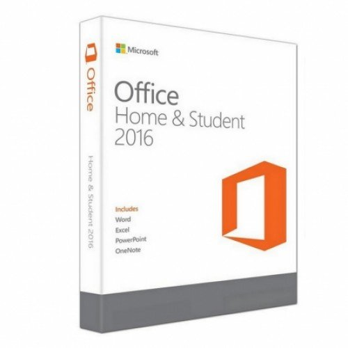 Microsoft 950018 Software Office Home und Student 2016 für 1 PC Download ESD permanent mehrfarbig