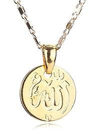 Silver Shoppee Allah Pendant Alloy Pendant For Girls And Women