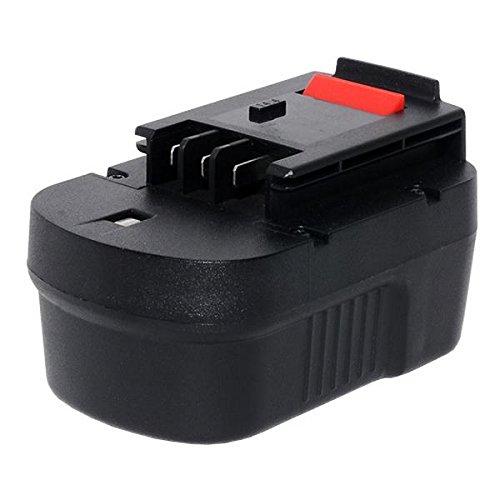 Sila Profi-Akku (152) Werkzeugakku, Ersatzakku für Black&Decker HP 146F2K - 14,4 Volt - 2000mAh - Ni-MH - Bauähnlich: HPB14 / A14F / A144EX / A144 / A14 / 499936-35 / 499936-034 / Firestorm
